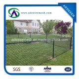 卸売容易にアセンブルされたPVC上塗を施してあるチェーン・リンクの塀