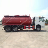 Sinotruk HOWO 10 짐수레꾼 16m3 흡입 하수 오물 트럭 또는 진공 트럭