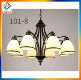 Moderner Leuchter-europäische Art-Eisen-Decken-Lampe