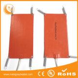 Calefator personalizado 100X100 da borracha de silicone da almofada de aquecimento do alimento