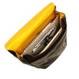 Backpack компьтер-книжки кожи черноты пользы популярной конструкции хорошего качества ежедневный