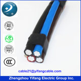 Aluminium Conductor를 가진 NF Standard Overhead 4 Core Cable
