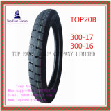 Lange Lebensdauer-gute Qualitätsmotorrad-inneres Gefäß und Motorrad-Reifen mit 300-17, 300-16