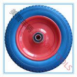 13 인치 외바퀴 손수레와 손수레를 위한 편평한 자유로운 PU 거품 바퀴