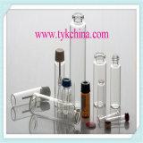 Tubo de cristal neutral para la ampolla y los frascos, botella