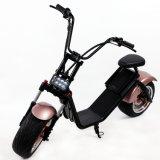 """O """"trotinette"""" elétrico o mais novo do lítio 60V Harley do """"trotinette"""" 1200W da motocicleta dos Cocos da cidade do projeto"""