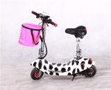 Pequeña rueda de bicicleta eléctrica plegable de bolsillo mini vespa de la bici
