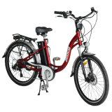 세륨 En15194 TUV 우선권 시스템 36V 250W 숙녀를 위한 전기 도시 자전거