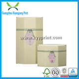 La qualité embellissent l'empaquetage de papier cosmétique fait sur commande de cadre de mémoire