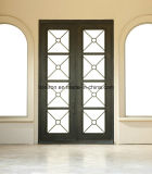 Тип франчуза двери входа фронта двойника утюга цены по прейскуранту завода-изготовителя