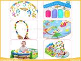 Qualità e stuoia del gioco del bambino dei giocattoli di ginnastica del piano di scossa & del gioco di sicurezza con il reticolo 3 per il bambino