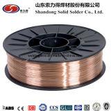 ER70S-6 Copper sólida recubierta de alambre de soldadura MIG