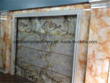 PVC-Steinskulptur-Bodenbelag-Strangpresßling-Maschinen-Zeile