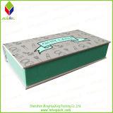 Bloc supérieur Style Gold Foil Gift Paper Eyelash Box avec Plastic