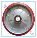 roda 10X2 de borracha contínua para o caminhão de pálete da mão