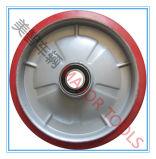 festes Gummirad 10X2 für Handladeplatten-LKW