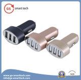 Blaue LED helle Anzeige der 3 Kanäle USB-Auto-Aufladeeinheits-
