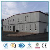 デザインおよび製造の鉄骨構造の研修会の倉庫の建物