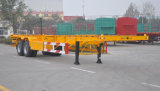 2 Eje 20FT o 40FT 30t Skeleton Container Semirremolque Chasis