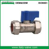 Calidad personalizado plateado Lavado válvula de bola de la máquina (AV6004)