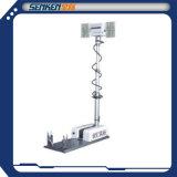 1.8m高い90W LEDの照明器具のサイトスキャン夜スキャン高いマストの軽いタワー