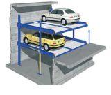 Elevatore di parcheggio dell'automobile in pozzo per quattro automobili