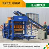 Máquina de fatura de tijolo Semi automática do tipo Qt4-25c Concret de Dongyue