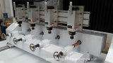 3D роторная гравировка, Multi шпиндель, машина маршрутизатора CNC 4 осей
