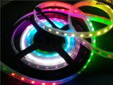 접착제 IP 65 RGB 5050 세륨 12V 24V 5m/Roll를 가진 300의 LED 지구 빛