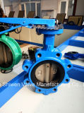 Дуктильный тип клапан-бабочка волочения утюга с местом EPDM