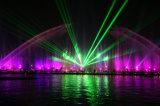 Лазер одушевленност 10W RGB полного цвета силы Hight напольный