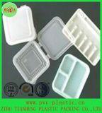 Thermoformingの自然な食糧皿プラスチックシートのヒップ