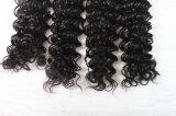 Cabelo 100% do Virgin nenhum cabelo humano brasileiro brandamente não processado do emaranhado