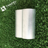 철강선 밧줄을%s 알루미늄 소매 또는 알루미늄 깃봉
