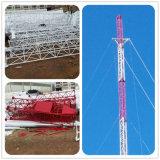 Превосходной башня антенны телекоммуникаций рангоута Guyed типа качества новой гальванизированная сталью