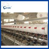 100%年の綿の糸の航空白いタオル(QHCS9981)