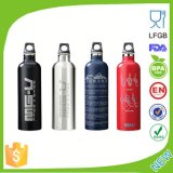 bouteille potable Dn-201 S/S de sport à mur unique de 450-750ml