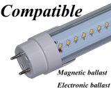 전기 Ballast Compatible LED Tube 90lm/W Replacing Fluorescent Tube Directly