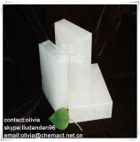 Completamente Refined Paraffin Wax/58-60 grado C /Solid Form/Cina Manufacture/per Candle Making