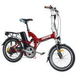 Mini casella piena pieghevole della sospensione 250W bici elettrica/Jb-Tdn05z della rotella da 20 pollici