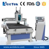 Ranurador de talla de madera automático del CNC 3D, máquina de talla de madera del ranurador del CNC de la escultura del eje de rotación del Atc de 9.0kw Italia Hsd