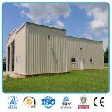 Estructura de acero modificada para requisitos particulares para la estructura de la casa prefabricada del almacén