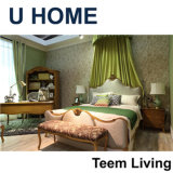 Insiemi di camera da letto francesi domestici degli insiemi di camera da letto di Calssic di stile di U bei