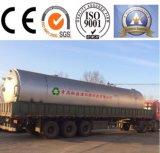 Diagramática Firgure del equipo de la destilación plástica para el fuel oil