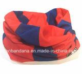 주문품 로고는 폴리에스테 탄력 있는 다기능 목 관 담황색의 연한 가죽 Headwear를 인쇄했다
