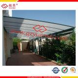 Matériau de jardinage de polycarbonate approuvé de GV