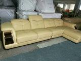 Nueva llegada, muebles de la sala de estar de Ciff, sofá de cuero moderno (A64#)