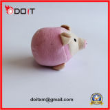 O costume cor-de-rosa do brinquedo do cão do luxuoso faz brinquedos do cão