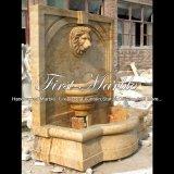 De gouden Fontein van de Muur van de Travertijn voor Meubilair mf-711 van de Tuin