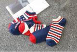 Fabrik passen Mann-Frauen-Kind-Staatsflagge-Socken an